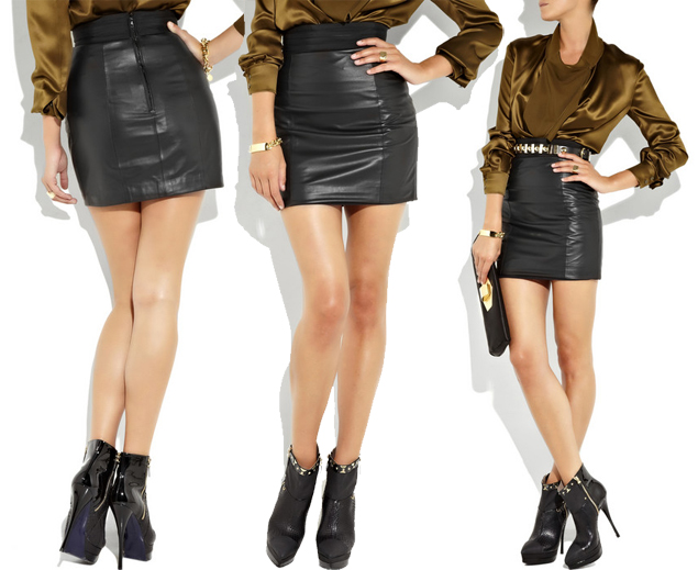 lwren-scott-leather-skirt | Violet Lila